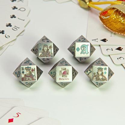 圖片 撲克骰子Poker Dice-彩雕鋼款