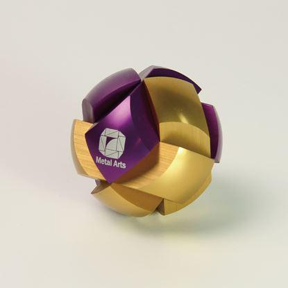圖片 星系-經典款丁香紫/金Haldis-Gold&Purple