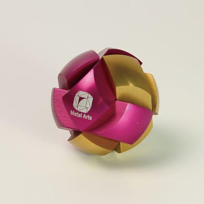 圖片 星系-經典款桃紅/金Haldis-Gold&Pink