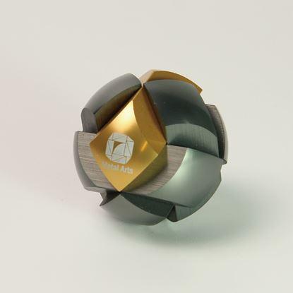 圖片 星系-經典款曜石灰/金Haldis-Gold&Gray
