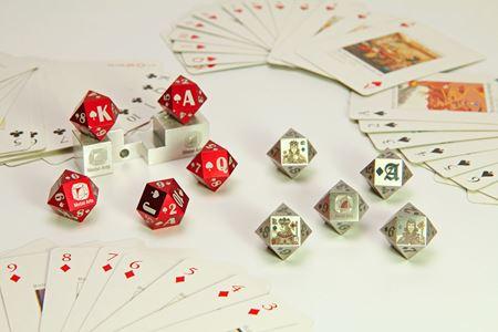 分類圖片 十四面骰子