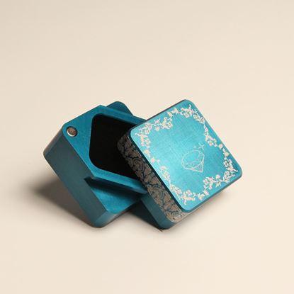 圖片 永恆之心珠寶盒 | 青春藍
