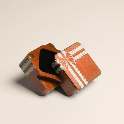 圖片 你是唯一項鍊盒 | 香檳橘