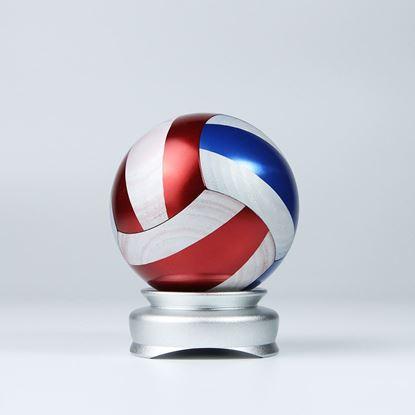 圖片 排球-鋁合金_紅/黃款